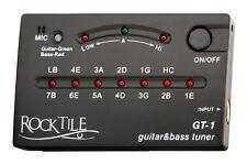 GT-1 E-Gitarre LED Stimmgerät Akustik Gitarre Tuner Geige E-Bass Guitar Stimmen