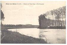 CPA 77 - BRAY SUR SEINE (Seine et Marne) - Chemin du Vieux Mouy - L'Île Penancie