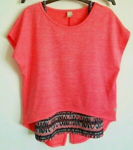 Girls TU 2 Piece Cami & Coral Top 8 Years Excellent Condition