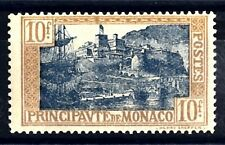 MONACO - 1924/33 - Soggetti vari (stemmi, effigi e vedute). Tipografati - 10 fr.