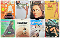 ⭐️Vintage Pantyhose/stayups w/Beautiful Models LOT of 8 Assorted/sizes/colors⭐️
