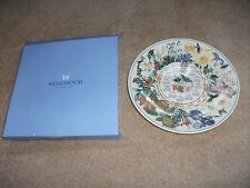 In Scatola Wedgwood Floreale calendario plate 2003 Queens Ware esclusivo DAILY MAIL