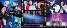 BTS 3 DVD Movie Collection: Burn the stage + Break the Silence + Bring the Soul