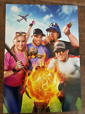 2016 SDCC COMIC CON SOFTBALL COMIC BOOK YOUTUBE SERIES STANDARD SIZE PROMO CARD