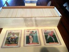 1992 92 Bowman Baseball Complete Set 1-705 w/ Mariano Rivera Rookie MINT