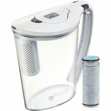 Brita Large 10 Cup Stream Filter as You Pour Water Pitcher with 1 Filter, Hydro,