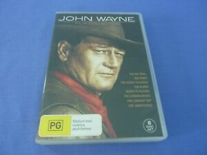 John Wayne - 8 Film Collection DVD Boxset Region 4