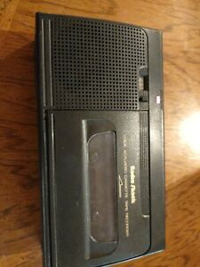 Radio Shack VOICE ACTUATED TAPE RECORDER Cassette Player CTR-76 Model #14-1156