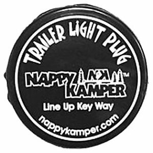 AP Products 008-100 Nappy Kamper Trailer Light Plug 008-100