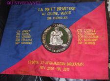 FANION SOUVENIR METT (mobile education and training team) infanterie AFGHANISTAN