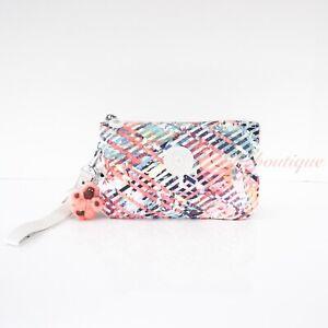 NWT Kipling AC7376 Creativity XL Extra Large Pouch Polyester Joyful Dreams Multi