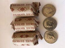 10 200 coins Bicentennial Coins ROLLS 1976 Kennedy Half Dollar Roll TEN