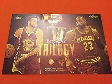 Cheer Card Authentic Fan Golden State Warriors NBA Finals 2017 Cavaliers New SGA