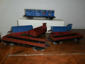 Lot 6 Wagons HORNBY éch O