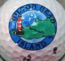 (1) HILTON HEAD ISLAND LOGO GOLF BALL
