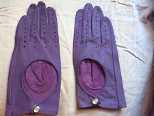 New listing Vintage Van Realte Women's Leather Purple Gloves Size Medium New