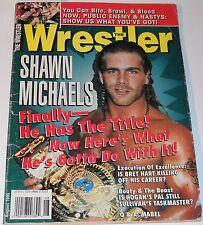 Wrestler Magazine August 1996 Shawn Michaels Bret Hart Hulk Hogan Steve Austin