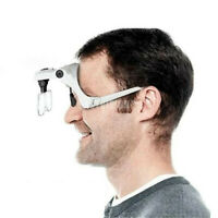 Easy Vision  Illuminated Head Magnifier Glasses LED Magnifying Louped Head Mount