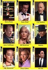 Goldfinger - James Bond movie Trading cards 007 OHMSS