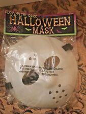 Brand New Glow-in The Dark Halloween Mask