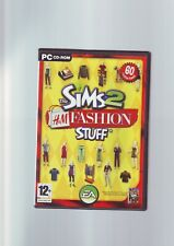 THE SIMS 2 H&M FASHION STUFF - PC GAME ADD-ON EXPANSION PACK - COMPLETE - VGC