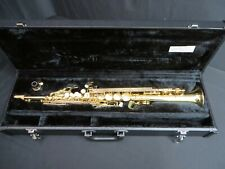 Selmer PSS600 Bb Soprano Saxophone in Lacquer , Mint Condition w/ Tags