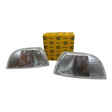 SET Hella Design Blinker mit Lampenträger Fiat Punto 176 links + rechts 93-99