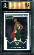 2007-08 Kevin Durant Topps Bowman Best Chrome Rookie RC (1130/2999) BGS 9.5