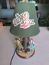 New ListingWizard Of Oz Bradford Exchange Lamp App.16 inches Tall
