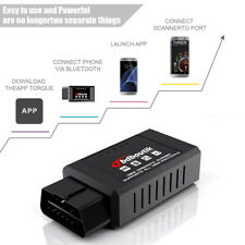 OBD2 Engine Code Reader Scanner Bluetooth ELM327 Car Diagnostic Tool for Andriod