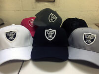 Oakland Raiders Cap Hat Embroidered Game Men Adjustable Las Vegas Curved