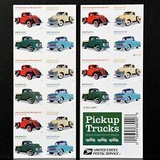 20 Pickup Trucks USPS Forever Stamps Postage Booklet 48 Ford F-1 F-100 53 Chevy