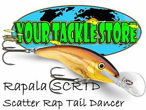 Rapala SCRTD09 Scatter Rap Tail Dancer Pick Color & Quantity NIP