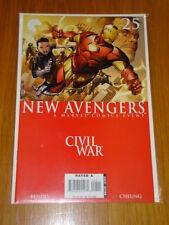 NEW AVENGERS #25 MARVEL COMIC NEAR MINT CIVIL WAR DECEMBER 2006