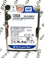 Western Digital 120GB WD1200BEVT-22A23T0 SATA Laptop Hard Drive WIPED&TESTED!