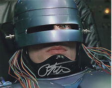 PETER WELLER Signed 10x8 Photo ROBOCOP COA