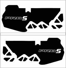Polaris AXYS RUSH Pro S Sled Wrap Graphic Decal Kit Snowmobile 2015 HAVOC WHITE