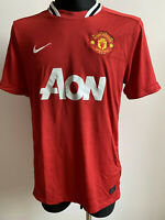 OFFICIAL MANCHESTER UNITED (MAN UTD) 2011 2012 HOME JERSEY SHIRT L NIKE DRI-FIT