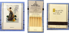 Pochette d'allumettes années 1980-1990, Four seasons Hotel Resorts, Canada