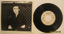 "Alice Cooper ""Clones (We're All)"" 1980 WB Promo 45rpm w/ Picture Sleeve NM"