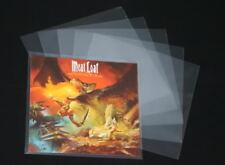 100 St. glasklare Schellack Cover Schutzhüllen für Vinyl Schallplatten 10 Zoll