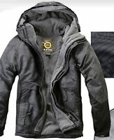 Southplay Mens Winter Waterproof Ski-Snowboard North Military Jacket, BJ108