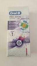 Oral-B Pro 2000 3D Blanco Cepillo de dientes recargable eléctrico (totalmente Nuevo)