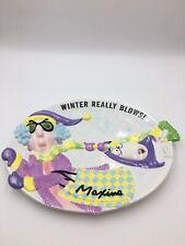 "Hallmark Maxine Cookie Platter ""Winter Really Blows"""