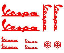 10 adesivi Vespa Italia scooter Piaggio GTX PX PRIMAVERA SPRINT 946 stickers