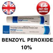 Persol Forte 10% Benzoyl Peroxide + 5% Precipitated Sulphur Cream for Acne Skin