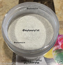 White Pearl Shimmer Mica Pigment Powder topping Soap Bath Lip sparkle Sample 2g