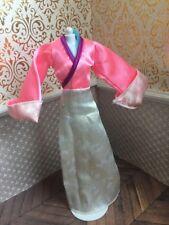 Mulan Pink Matchmaker Dress Gown Disney Doll Barbie Chinese