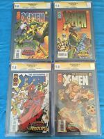 Astonishing X-Men #1-4 set - Marvel - CGC 9.8 NM/MT - Signed by Joe Madureira