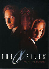 X FILES MOVIE FIGHT THE FUTURE PROMOTIONAL CARD P1 (UK variant)